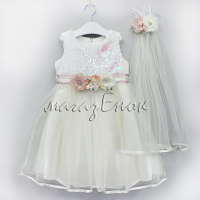 Платье  05-018-05бел