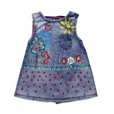 Платье джинсовое  05-018-15